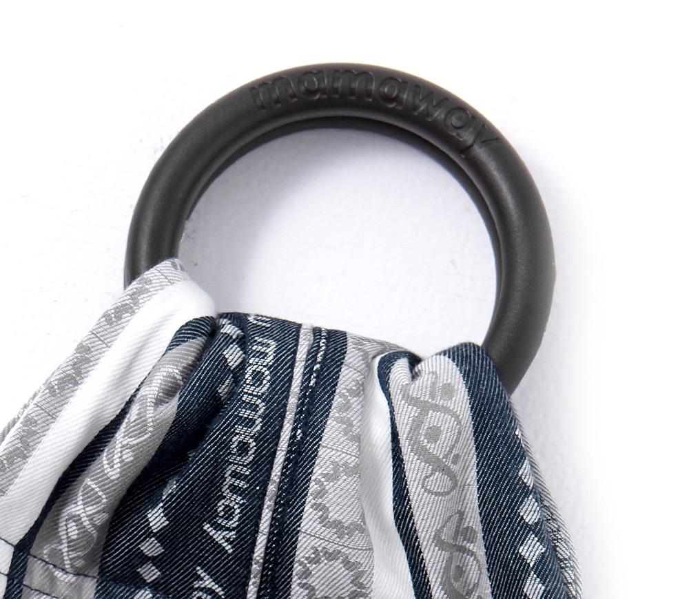 波希米亞丹寧版育兒背巾