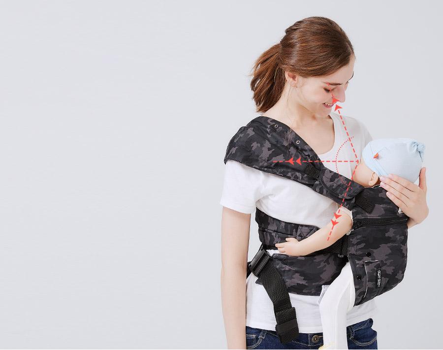 4D環抱式嬰兒揹帶