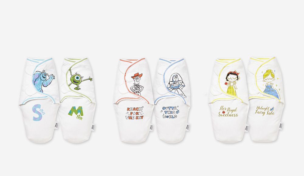 Disney Cocoon Swaddle Wrap 2 Pack
