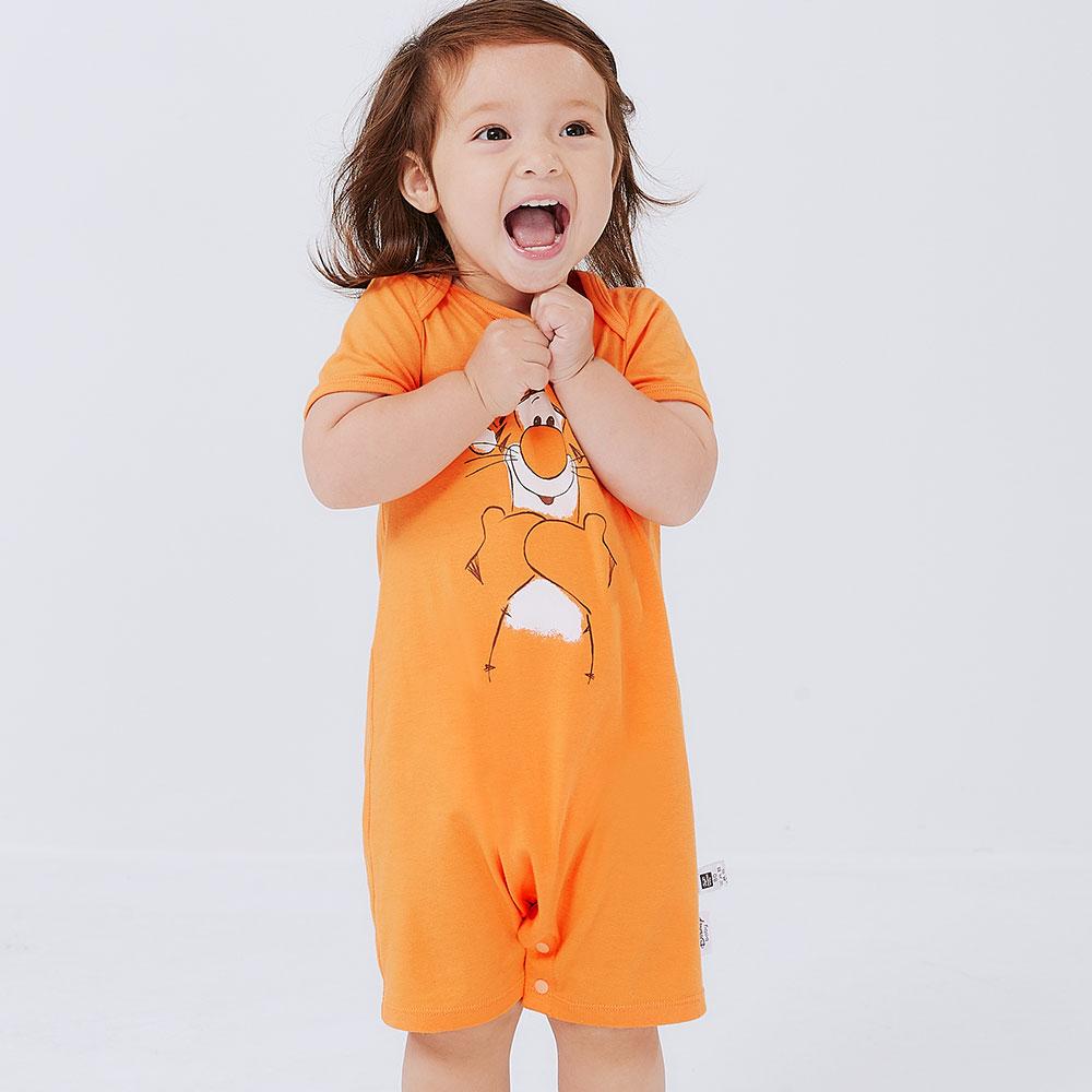 BABY 迪士尼Q彈連身包屁衣-跳跳虎