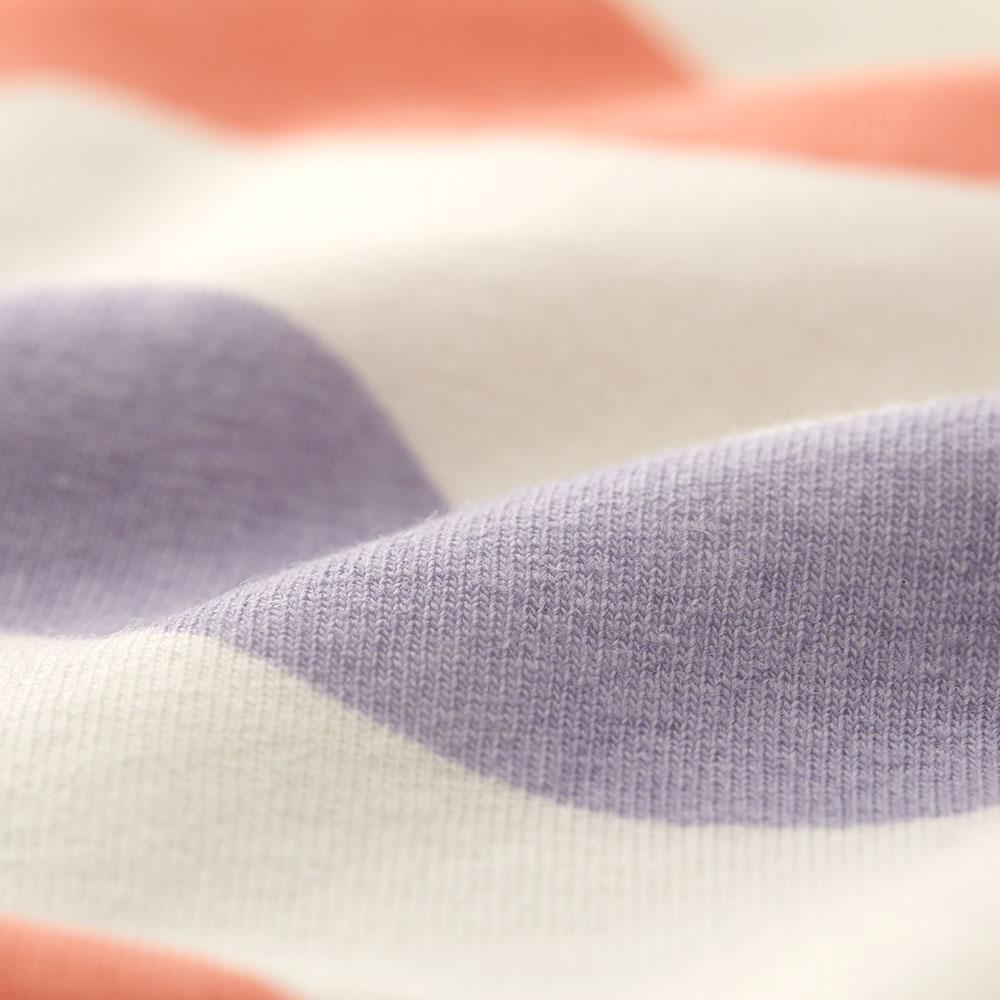 Newborn Q elastic cotton bag fart clothes (2 in)-little/water ripple