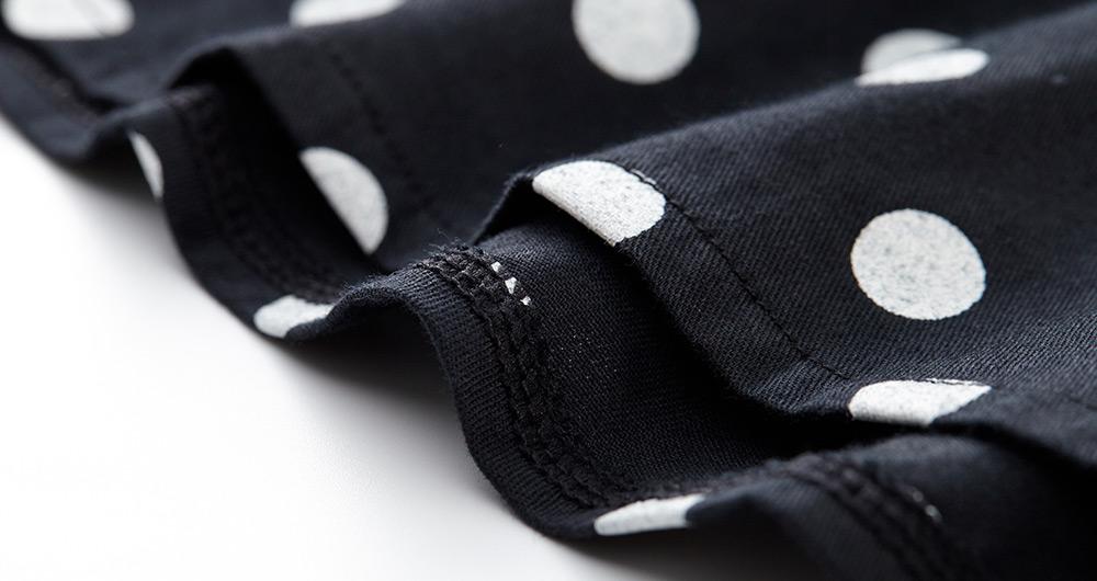 仿針織雙層孕哺上衣衫