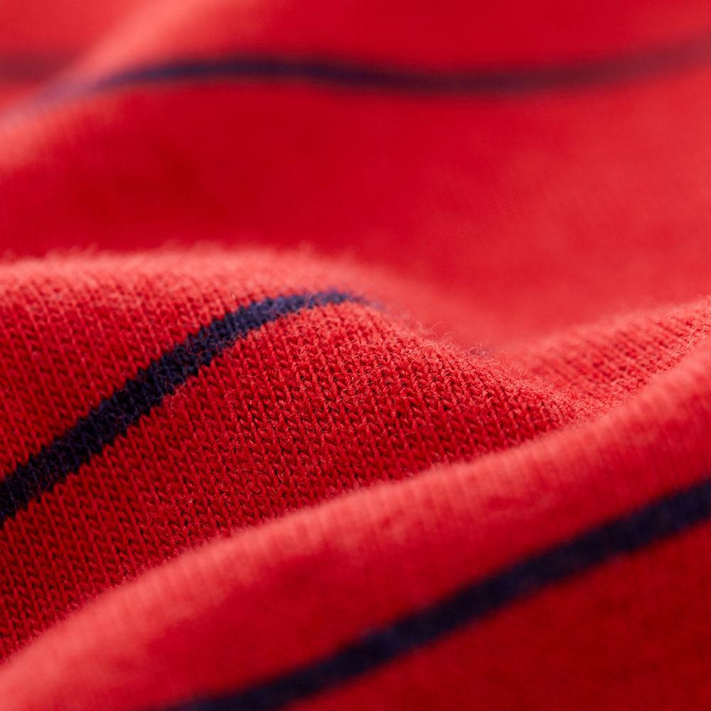每日橫紋連袖孕哺洋裝