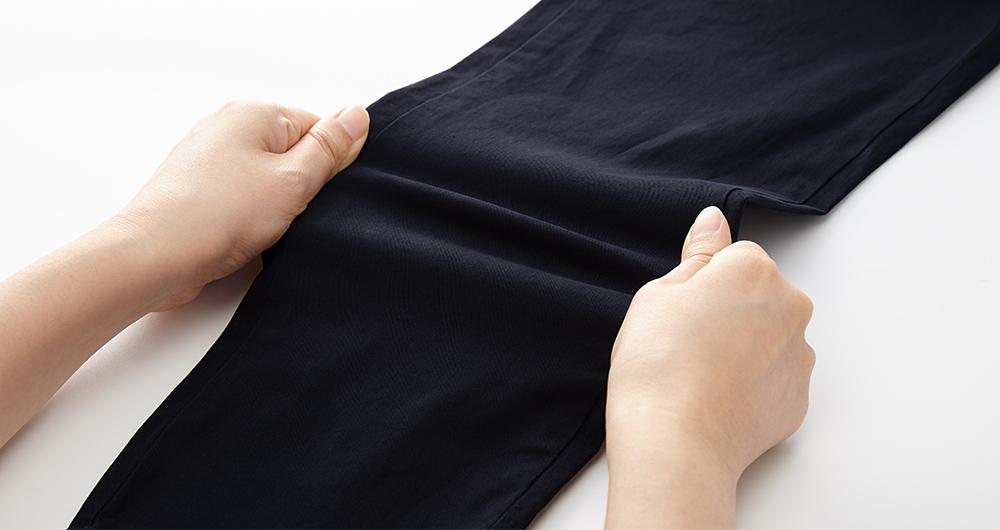 修身開叉孕婦褲